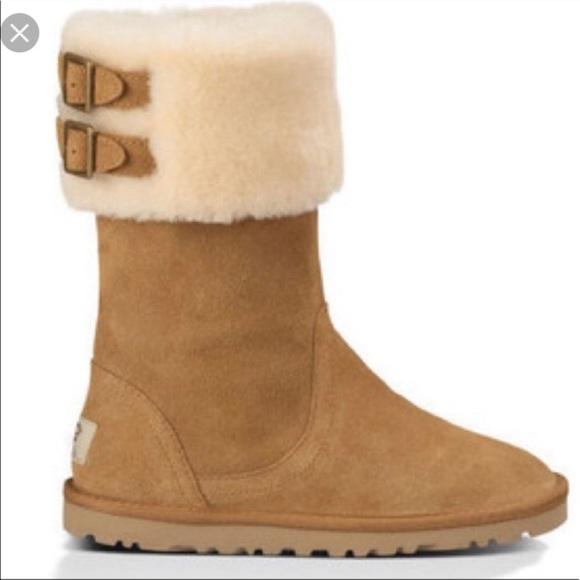 1403434f168 UGG 'Beckham' Chestnut Boot